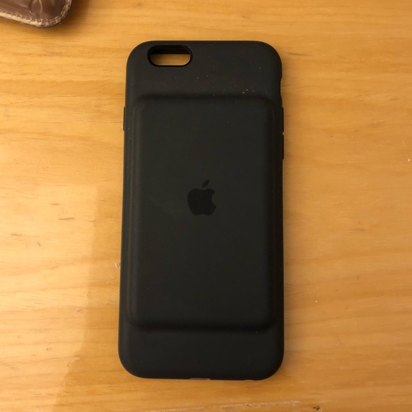 the latest e5406 8b997 iPhone 6s Charcoal Gray Apple Smart Charging Case